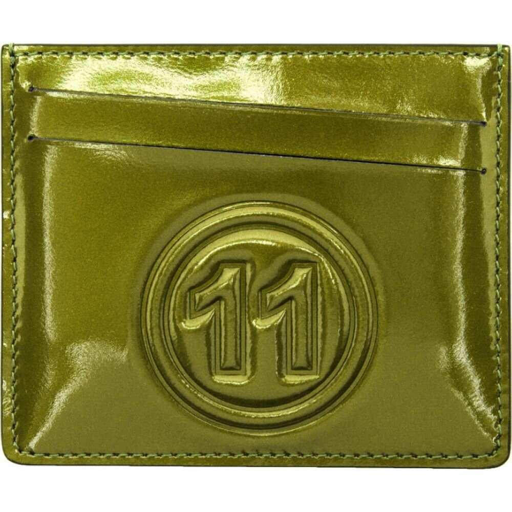 メゾン マルジェラ Maison Margiela メンズ カードケース・名刺入れ カードホルダー【Green Metallic Card Holder】Green