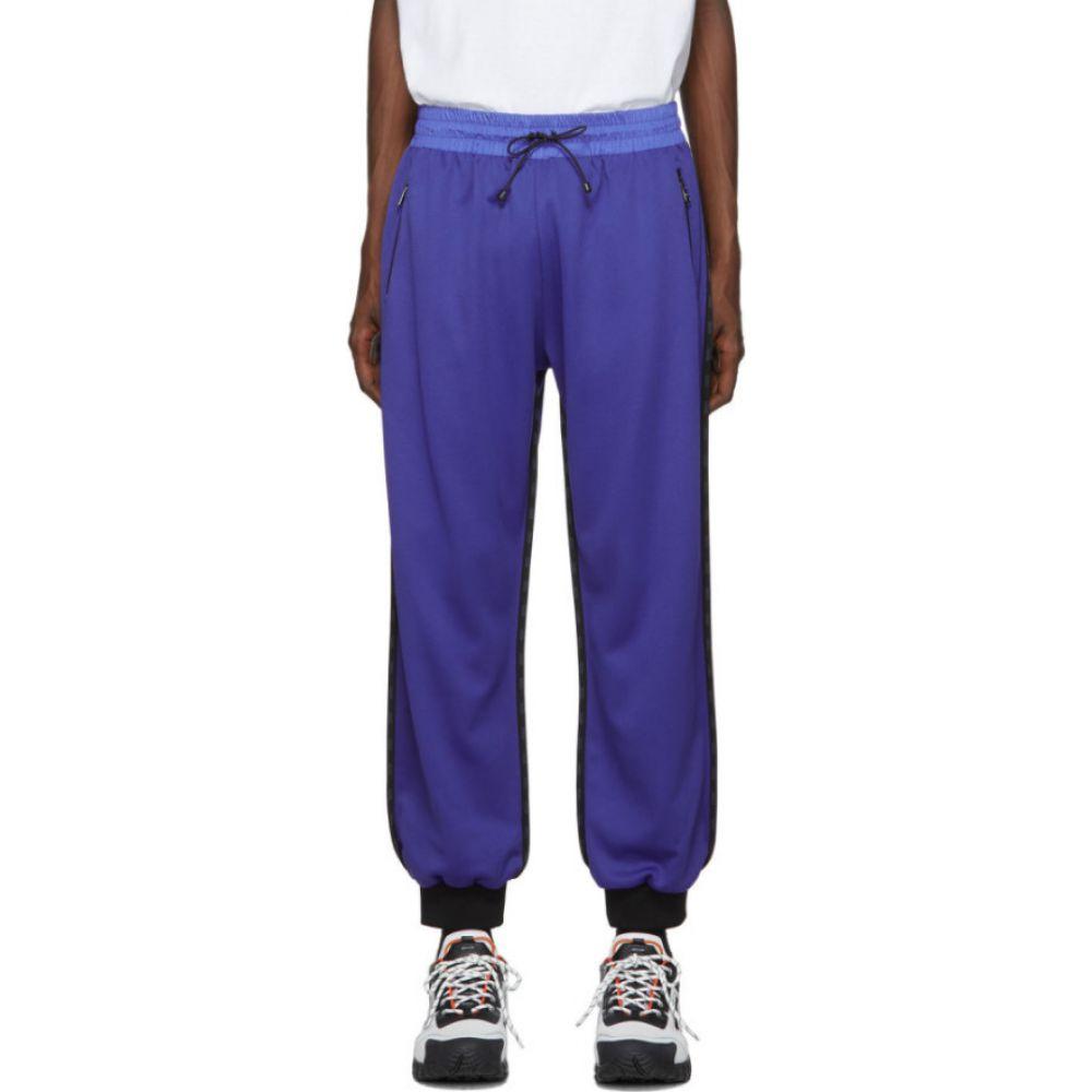 コルマール Colmar A.G.E. by Shayne Oliver メンズ スウェット・ジャージ ボトムス・パンツ【Blue Jersey Lounge Pants】Galaxy