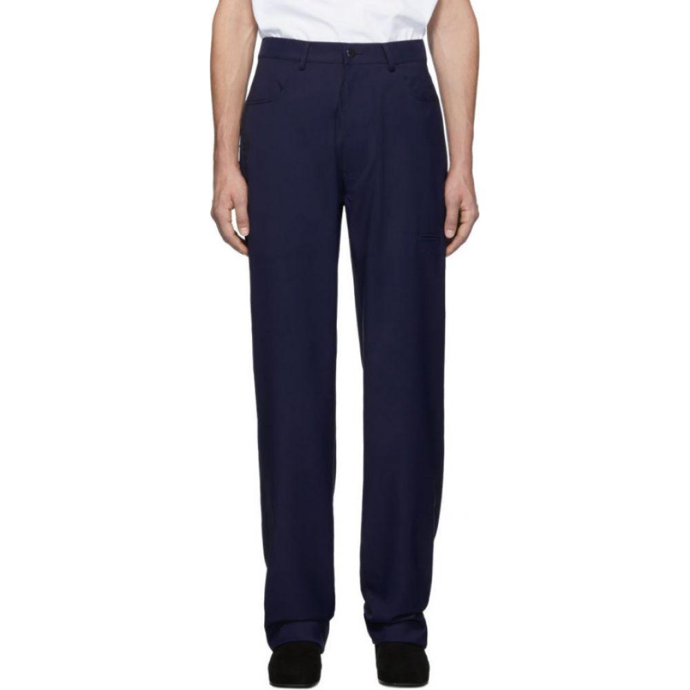 ランダム アイデンティティーズ Random Identities メンズ ボトムス・パンツ 【Navy Twill Trousers】Navy