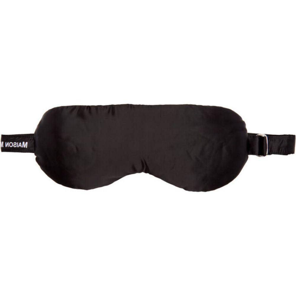 メゾン マルジェラ MM6 Maison Margiela レディース 雑貨 アイマスク【Black Eyemask Pouch】Black