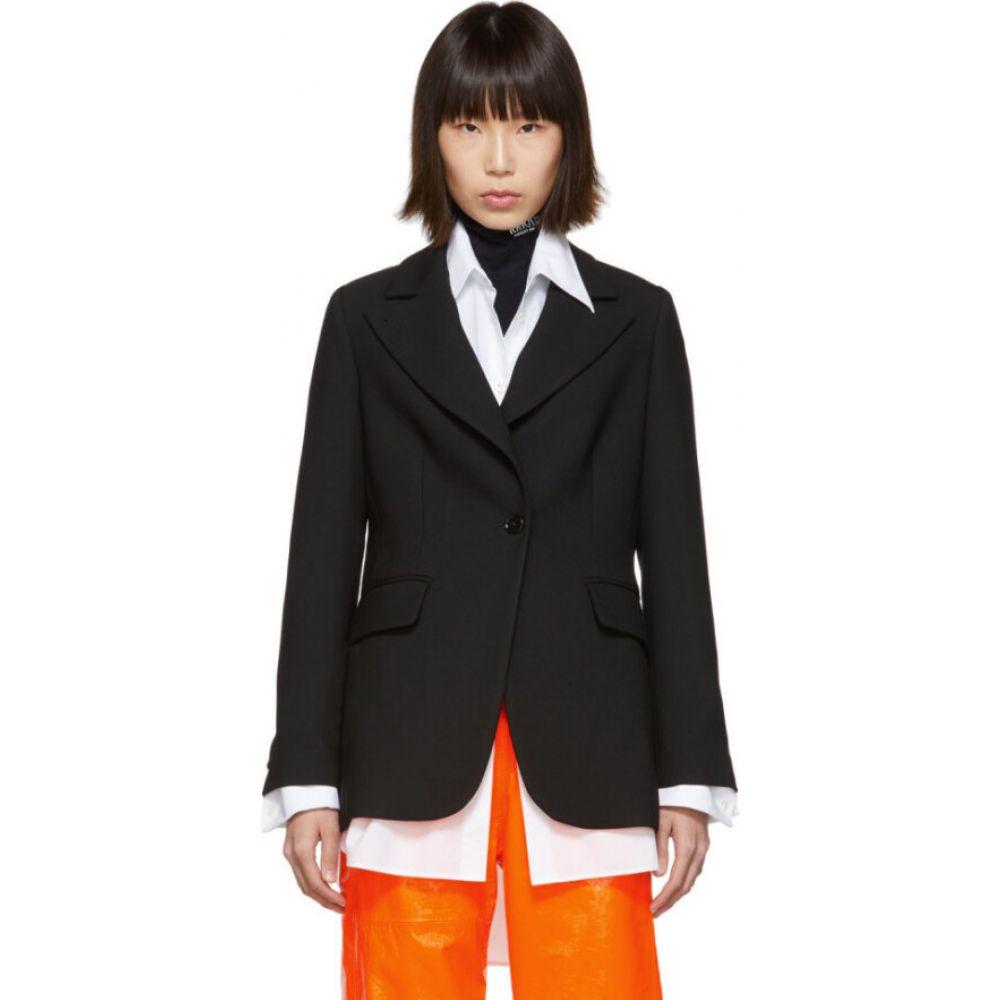 メゾン マルジェラ MM6 Maison Margiela レディース スーツ・ジャケット アウター【Black Suiting Blazer】Black
