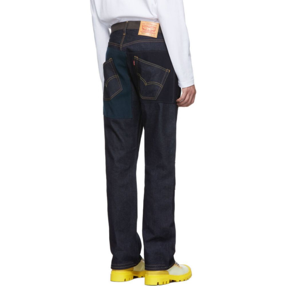 ジュンヤ ワタナベ Junya Watanabe メンズ ジーンズ・デニム ボトムス・パンツ Blue Levi's Edition 503 Patch Jeans Indigo5LcARjq43