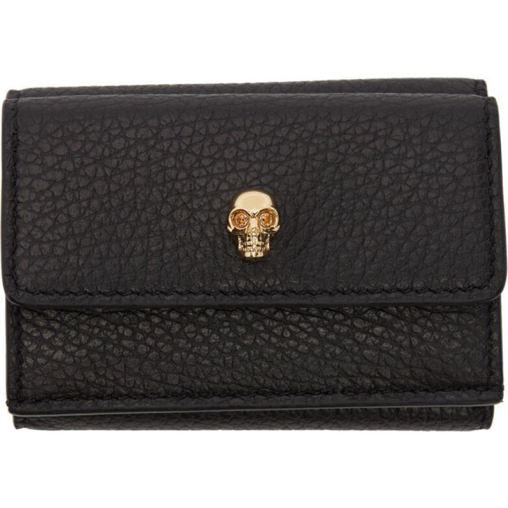 アレキサンダー マックイーン Alexander McQueen レディース 財布 【Black Mini New Skull Wallet】Black
