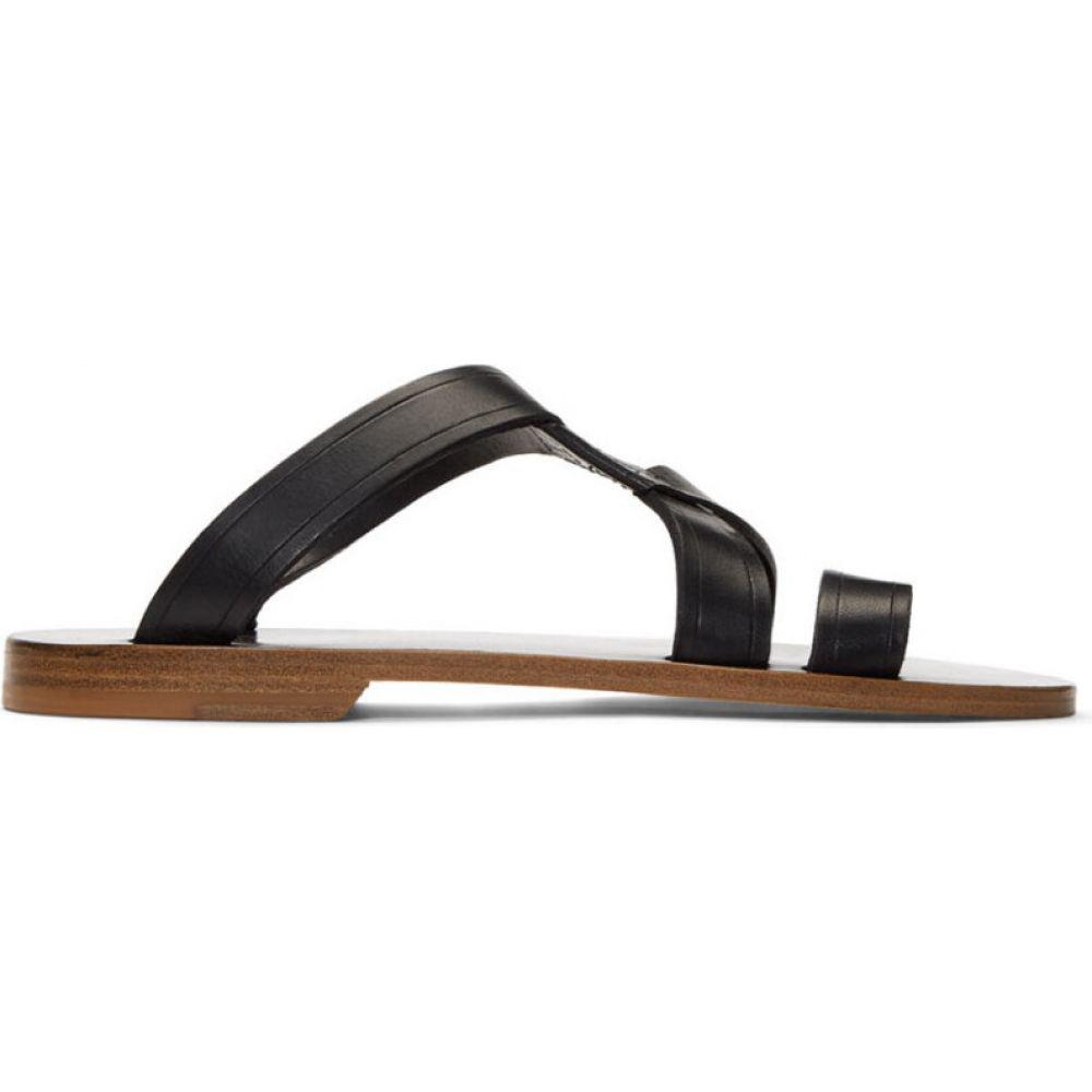 アーペーセー A.P.C. レディース サンダル・ミュール シューズ・靴【black yael sandals】