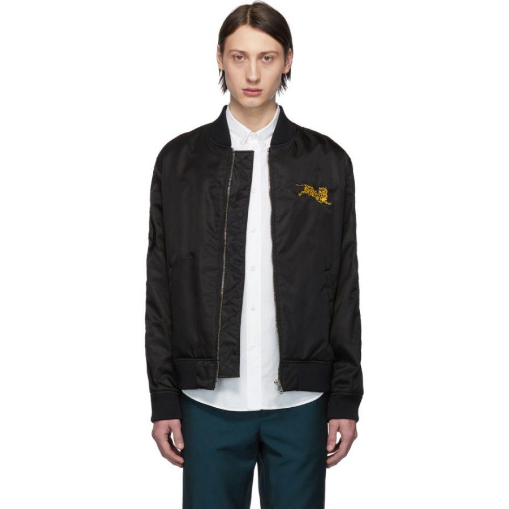 ケンゾー Kenzo メンズ ブルゾン ミリタリージャケット アウター【black jumping tiger bomber jacket】