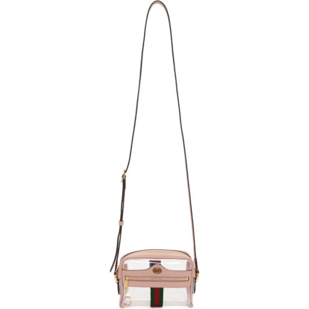 グッチ Gucci レディース ショルダーバッグ バッグ【transparent & pink ghost ophidia bag】Pink