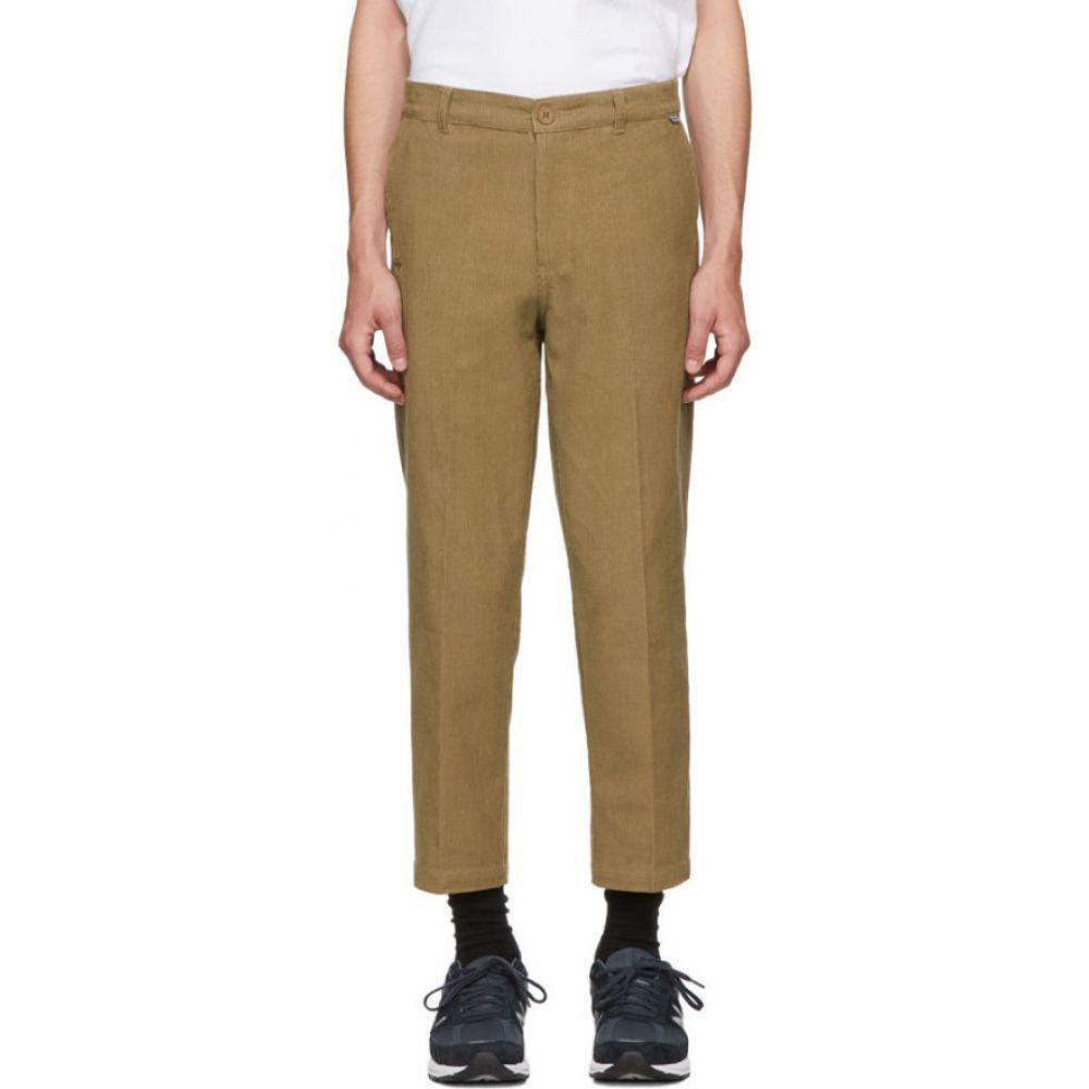 ディッキーズ Dickies Construct メンズ スキニー・スリム ボトムス・パンツ【ssense exclusive brown straight slim corduroy pants】Brown