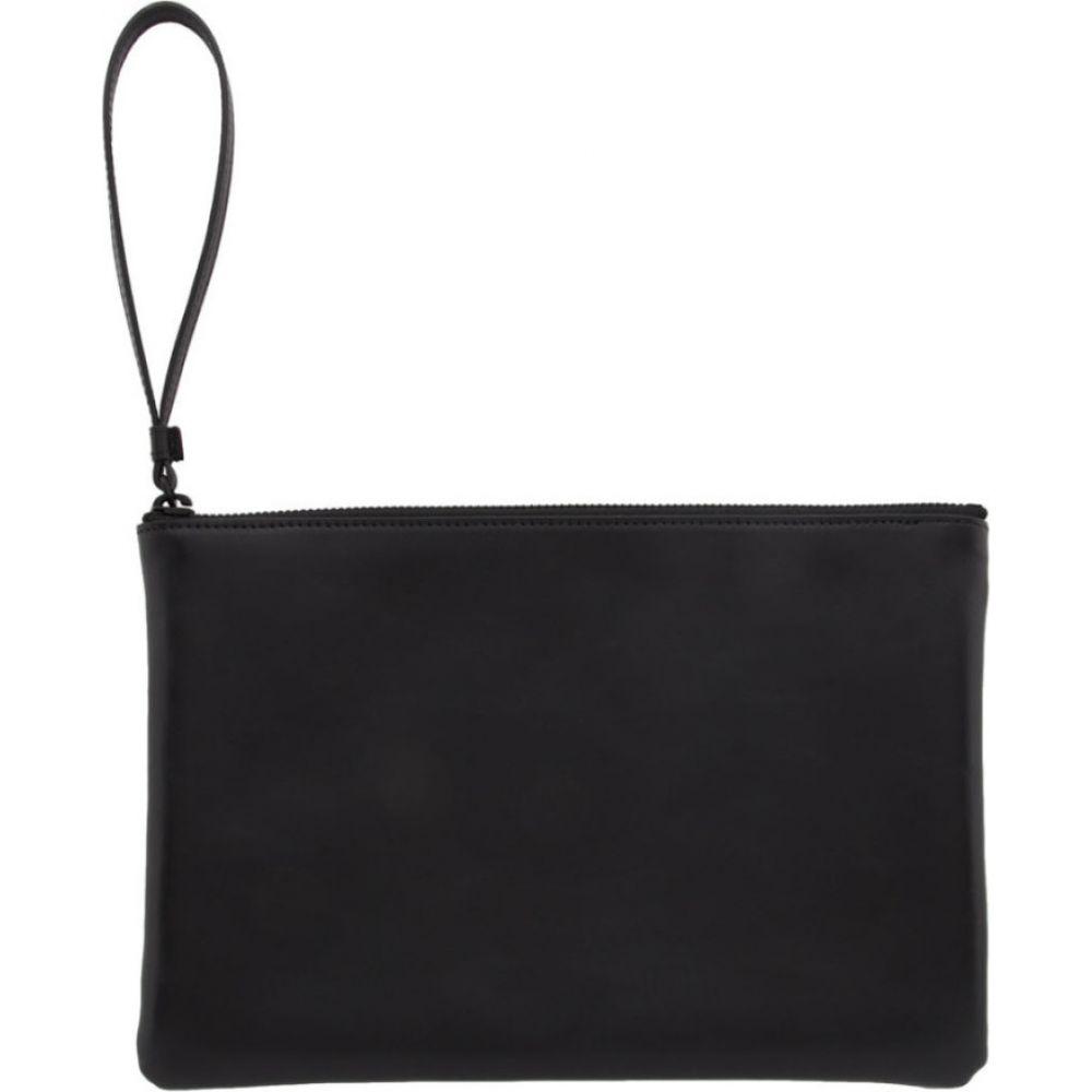 コモン プロジェクト Common Projects メンズ ポーチ 【black medium flat pouch】Black