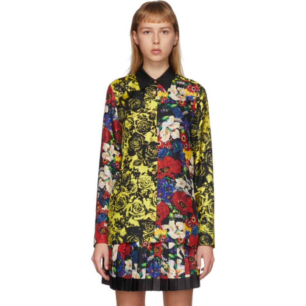 ヴェルサーチ Versace レディース ブラウス・シャツ トップス【ssense exclusive multicolor silk floral blouse】Multi