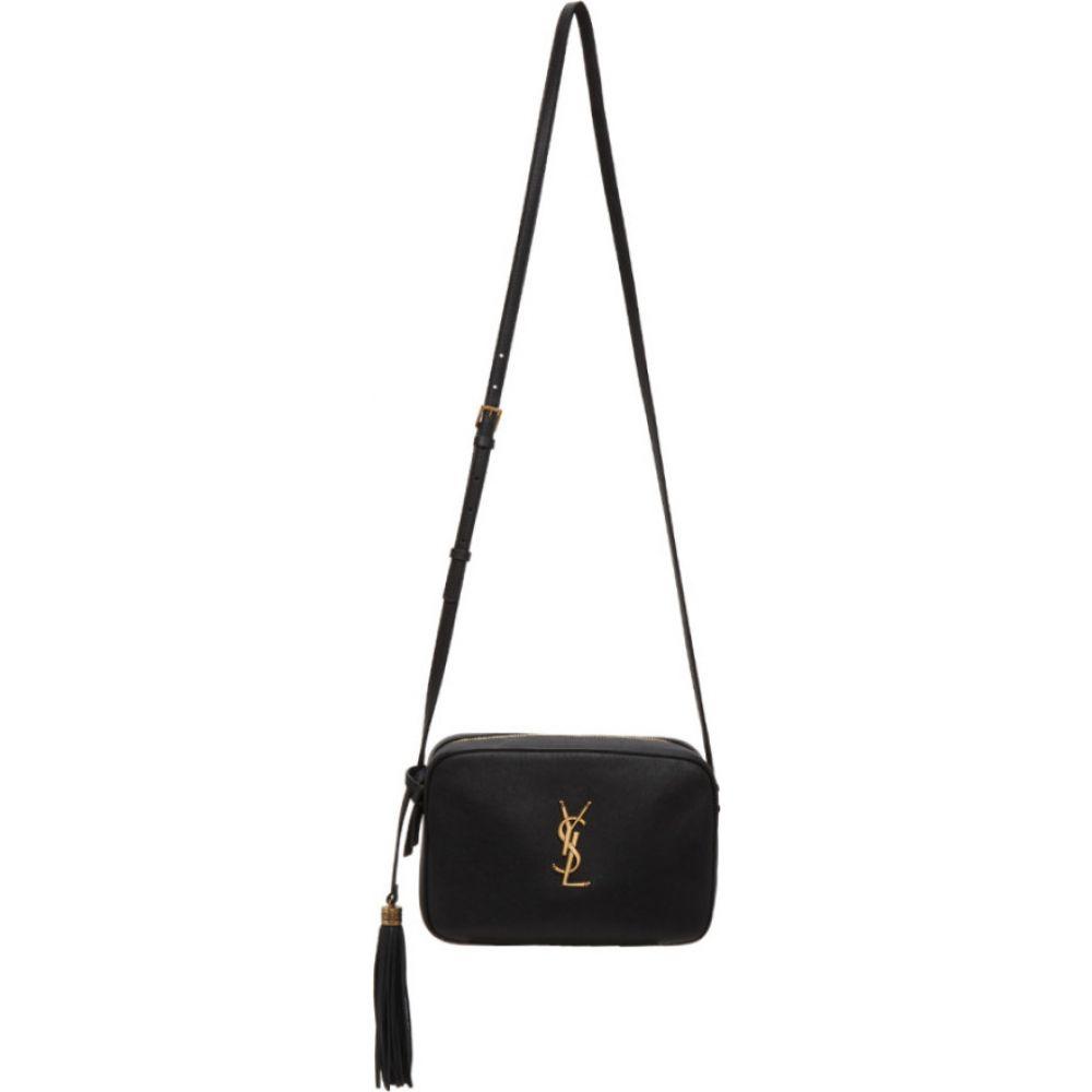 イヴ サンローラン Saint Laurent レディース ショルダーバッグ カメラバッグ バッグ【black smooth lou camera bag】Black