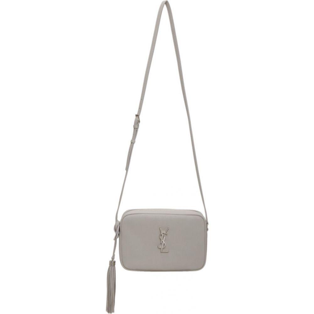 イヴ サンローラン Saint Laurent レディース ショルダーバッグ カメラバッグ バッグ【grey smooth lou camera bag】Granite
