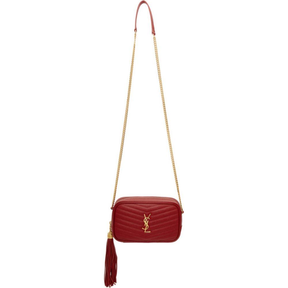 イヴ サンローラン Saint Laurent レディース ショルダーバッグ カメラバッグ バッグ【red mini lou camera bag】Red