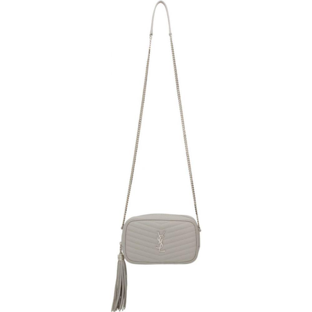 イヴ サンローラン Saint Laurent レディース ショルダーバッグ カメラバッグ バッグ【grey mini lou camera bag】Granite