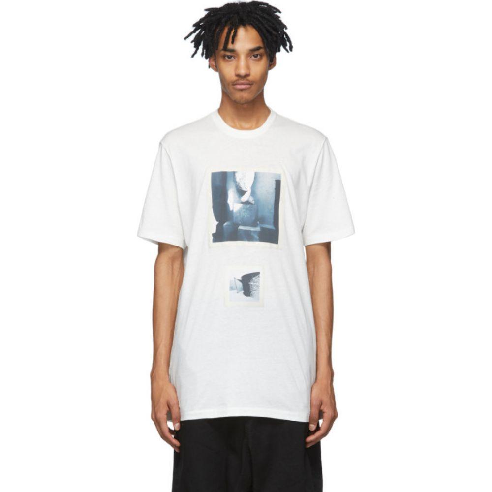 ユリウス Julius メンズ Tシャツ トップス【off-white graphic t-shirt】Off-White