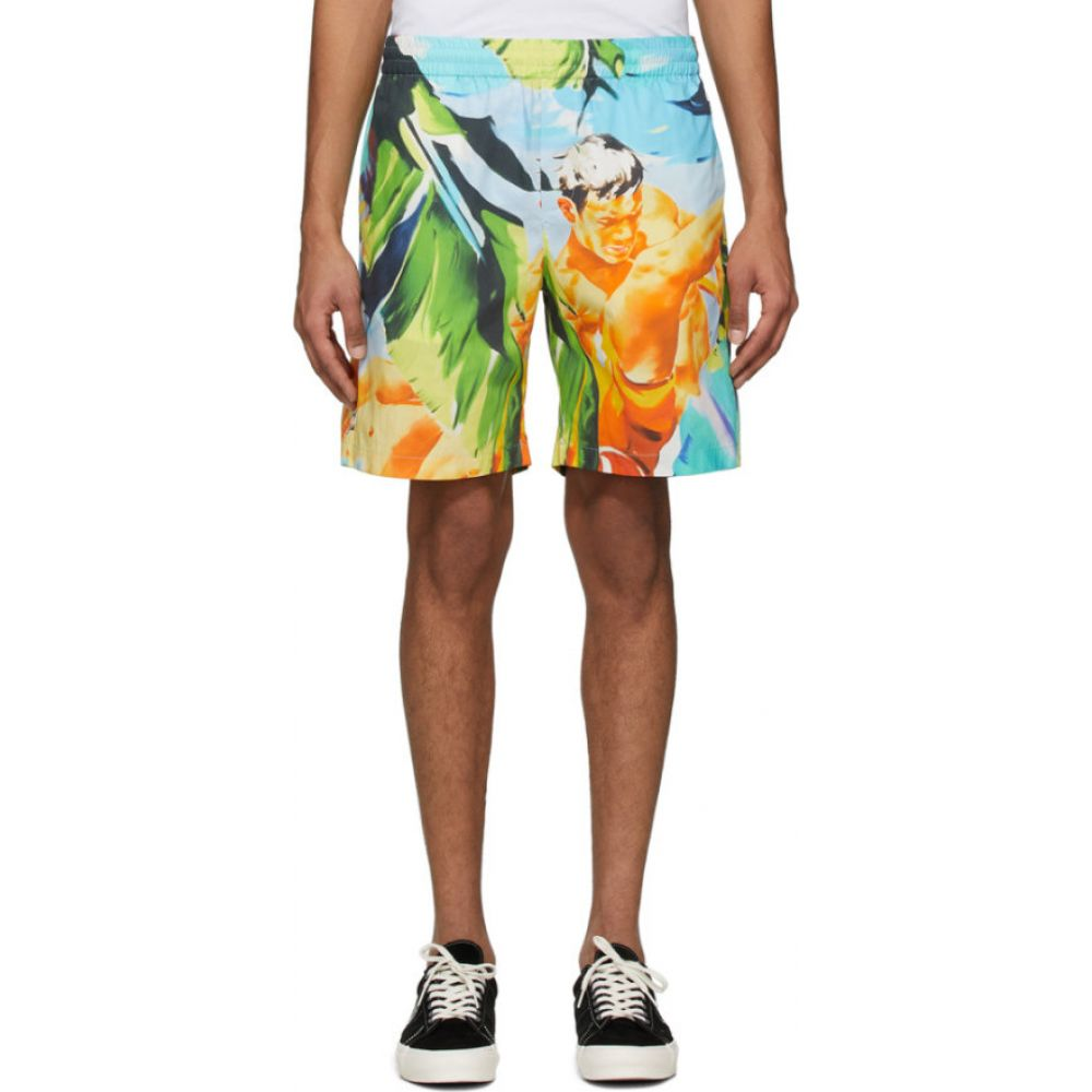 エムエスジーエム MSGM メンズ ショートパンツ ボトムス・パンツ【multicolor summer print shorts】Multicolor