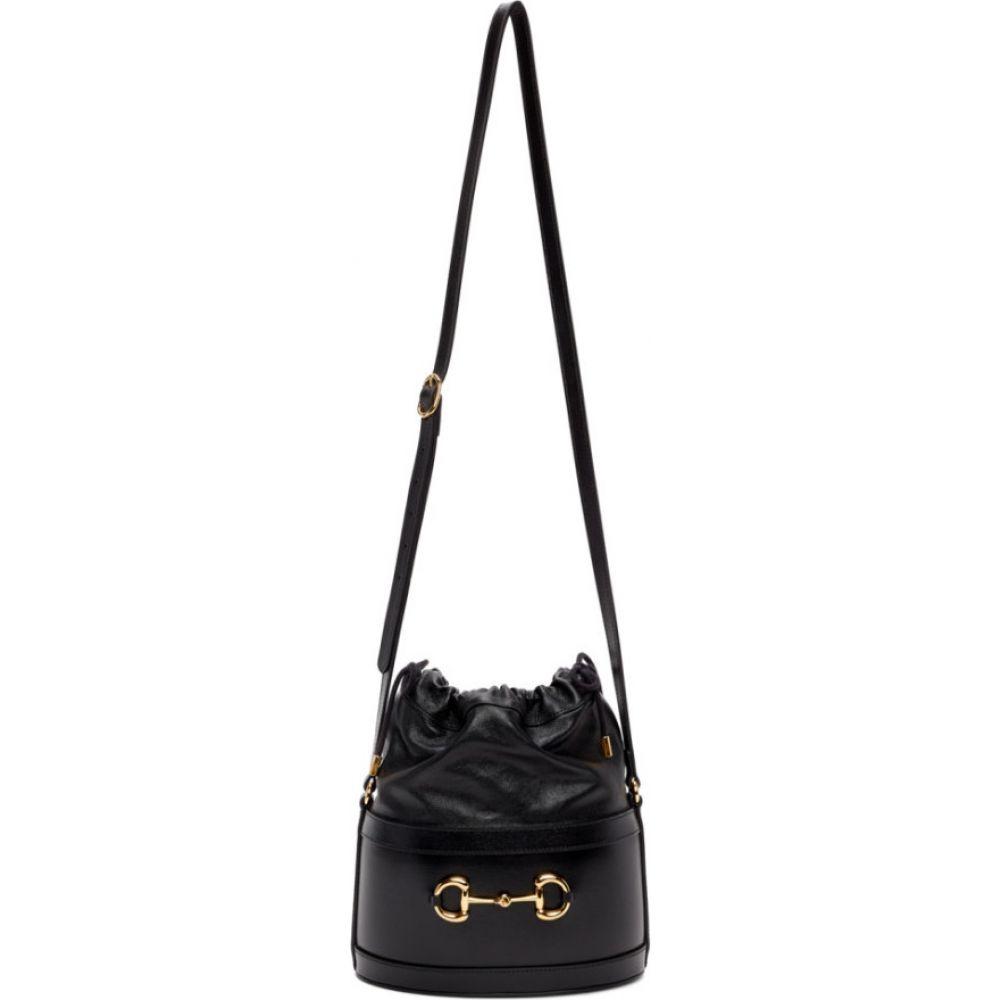 グッチ Gucci レディース ショルダーバッグ バケットバッグ バッグ【black '1955' horsebit bucket bag】Black