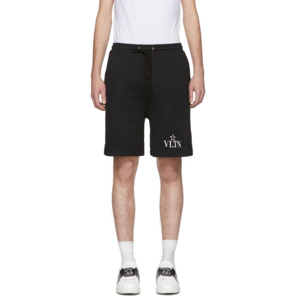 ヴァレンティノ Valentino メンズ ショートパンツ ボトムス・パンツ【black vltn star jersey shorts】Black
