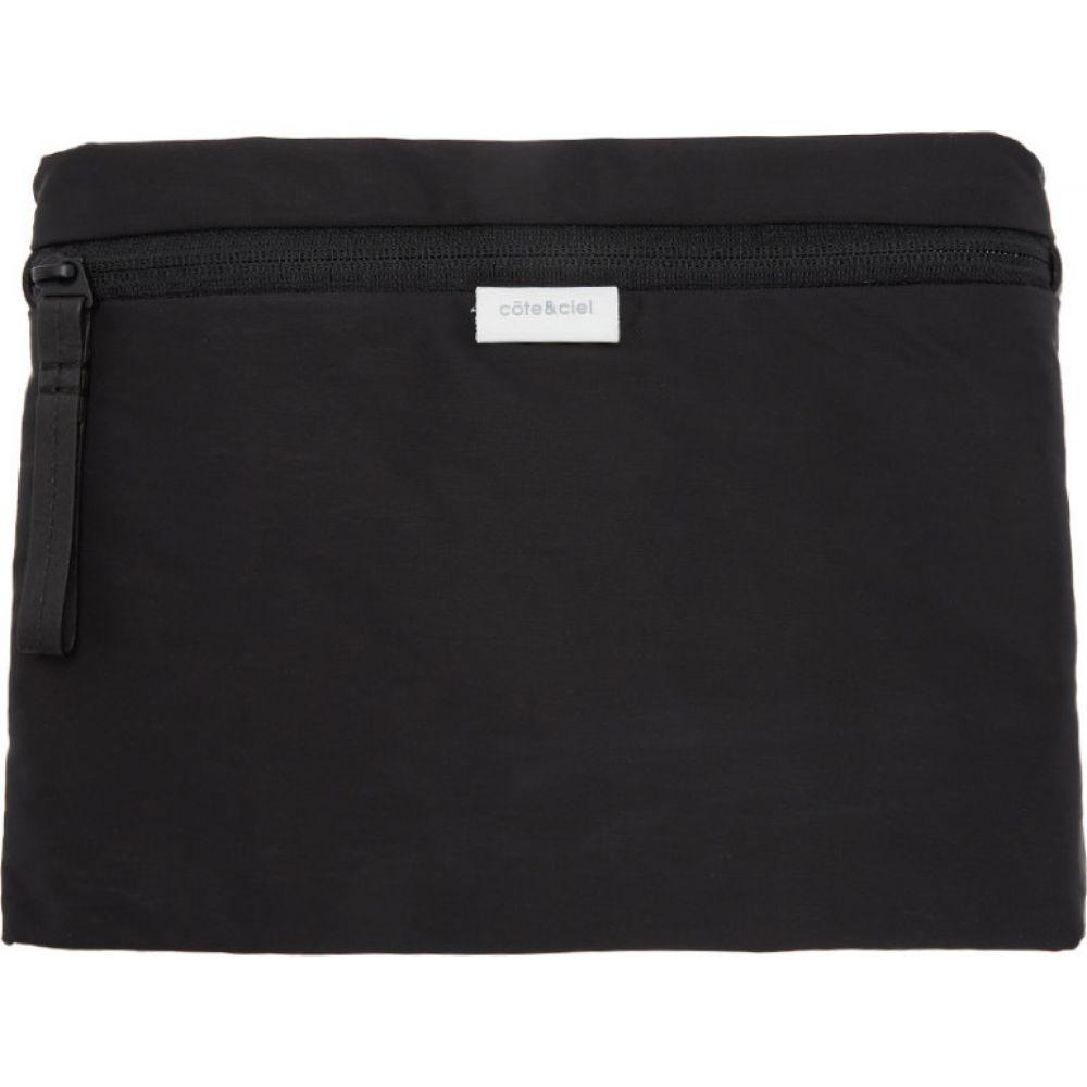 コート エ シエル Cote & Ciel メンズ ポーチ 【black kohilo pouch】Black
