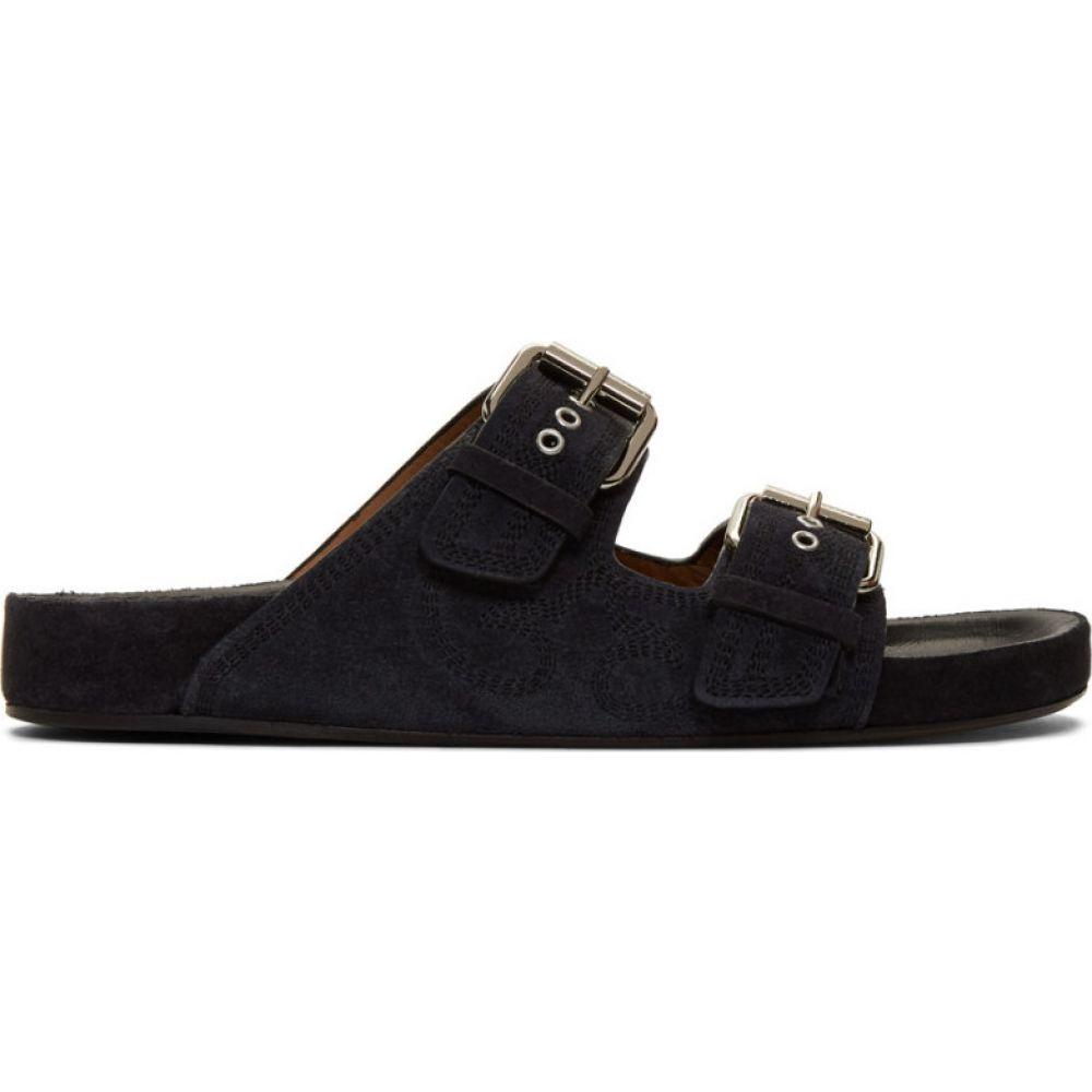 イザベル マラン Isabel Marant レディース サンダル・ミュール シューズ・靴【black suede lennyo sandals】Faded black
