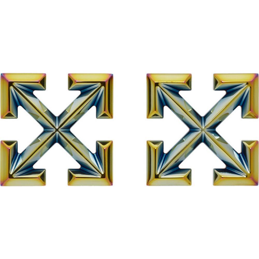 オフホワイト Off-White レディース イヤリング・ピアス ジュエリー・アクセサリー【multicolor anodized big arrows earrings】Multicolor