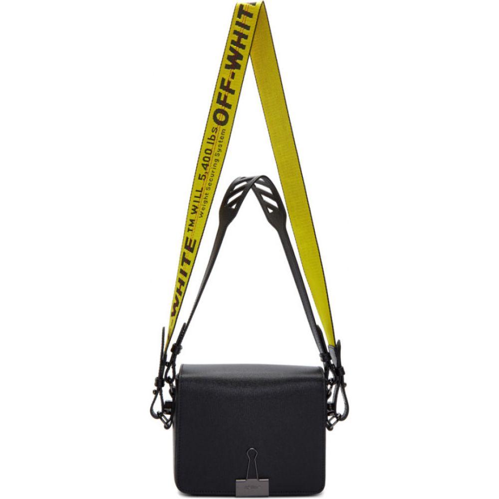 オフホワイト Off-White レディース ショルダーバッグ バッグ【ssense exclusive black flap bag】Black