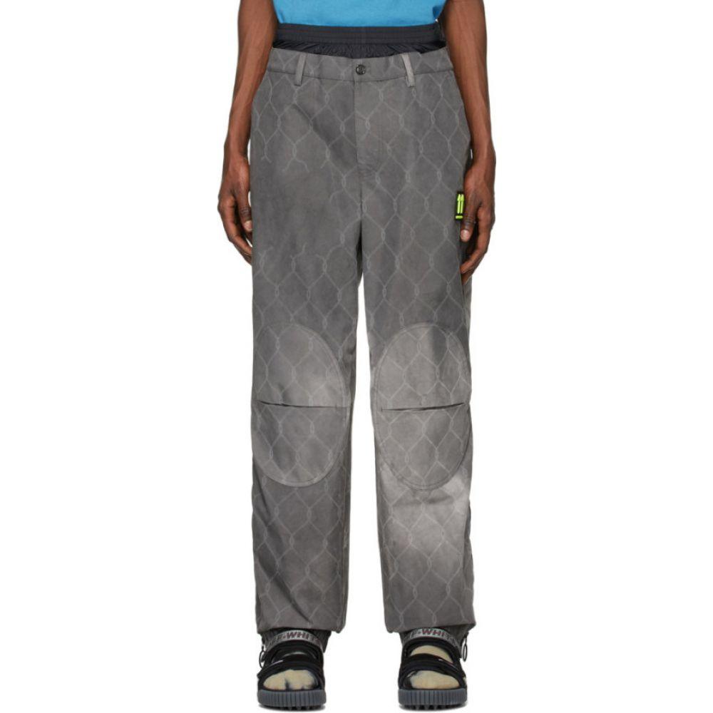 オフホワイト Off-White メンズ チノパン ボトムス・パンツ【grey fence extended chino trousers】Grey