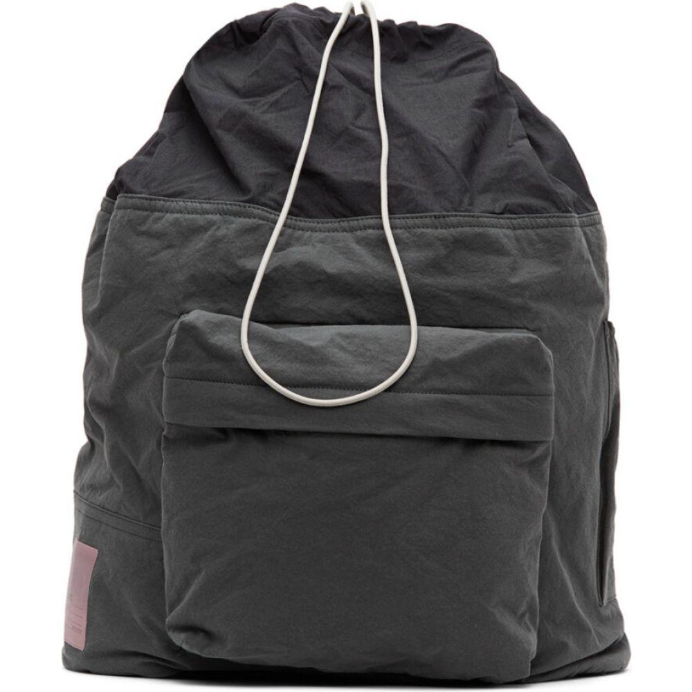 オーエーエムシー OAMC メンズ バックパック・リュック バッグ【grey cascade backpack】Dark grey