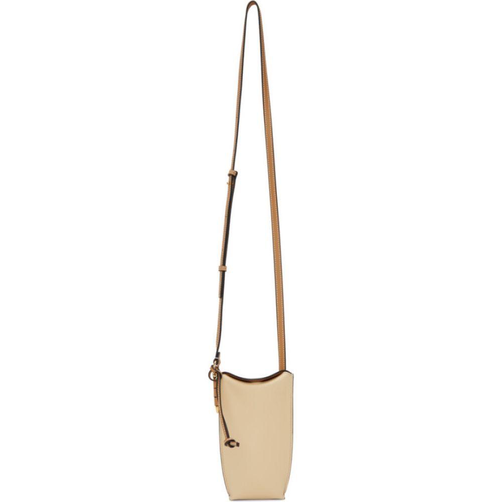 ロエベ Loewe レディース ショルダーバッグ バッグ【beige & tan gate pocket bag】Dune/Vanilla