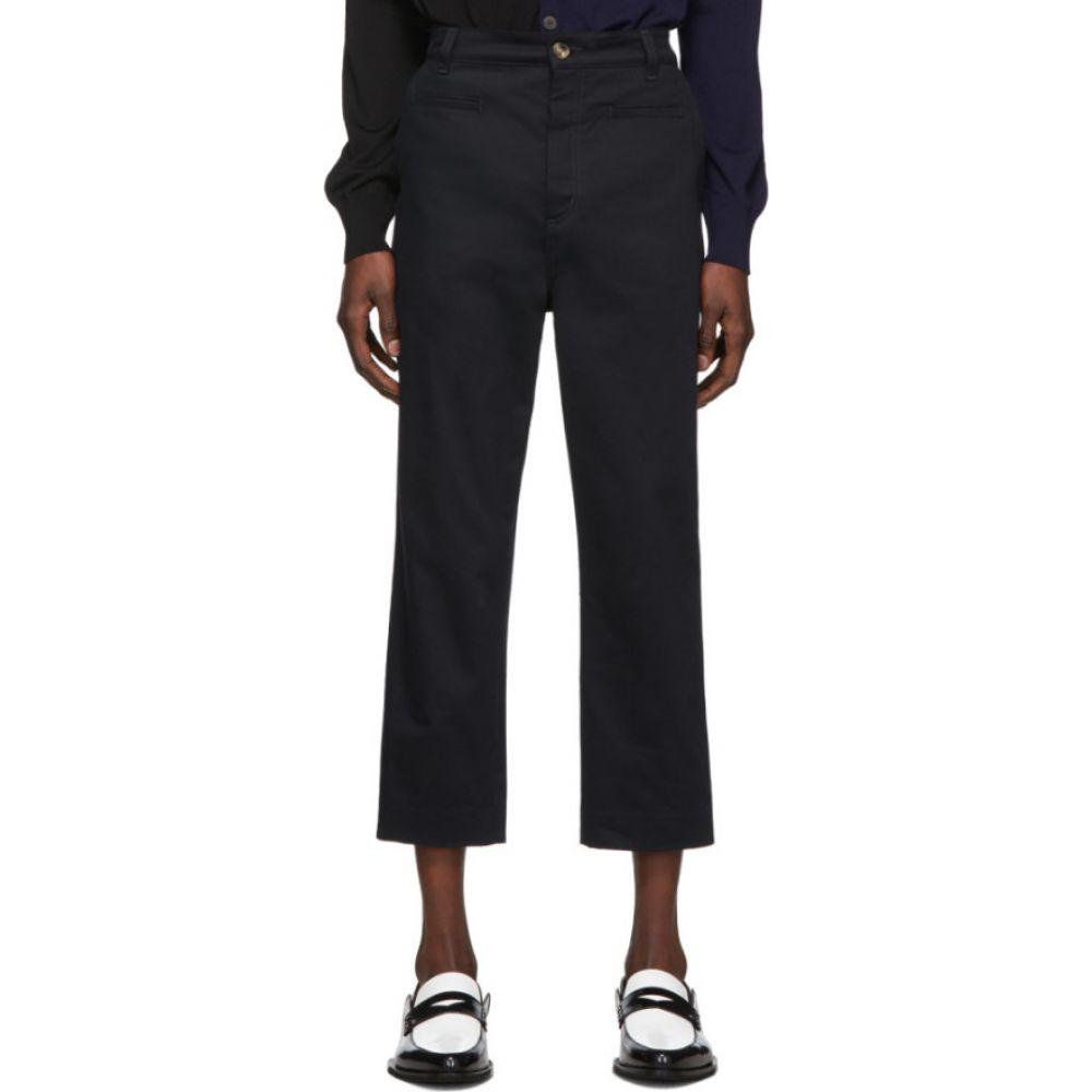 ロエベ Loewe メンズ ボトムス・パンツ 【navy fisherman trousers】Blue