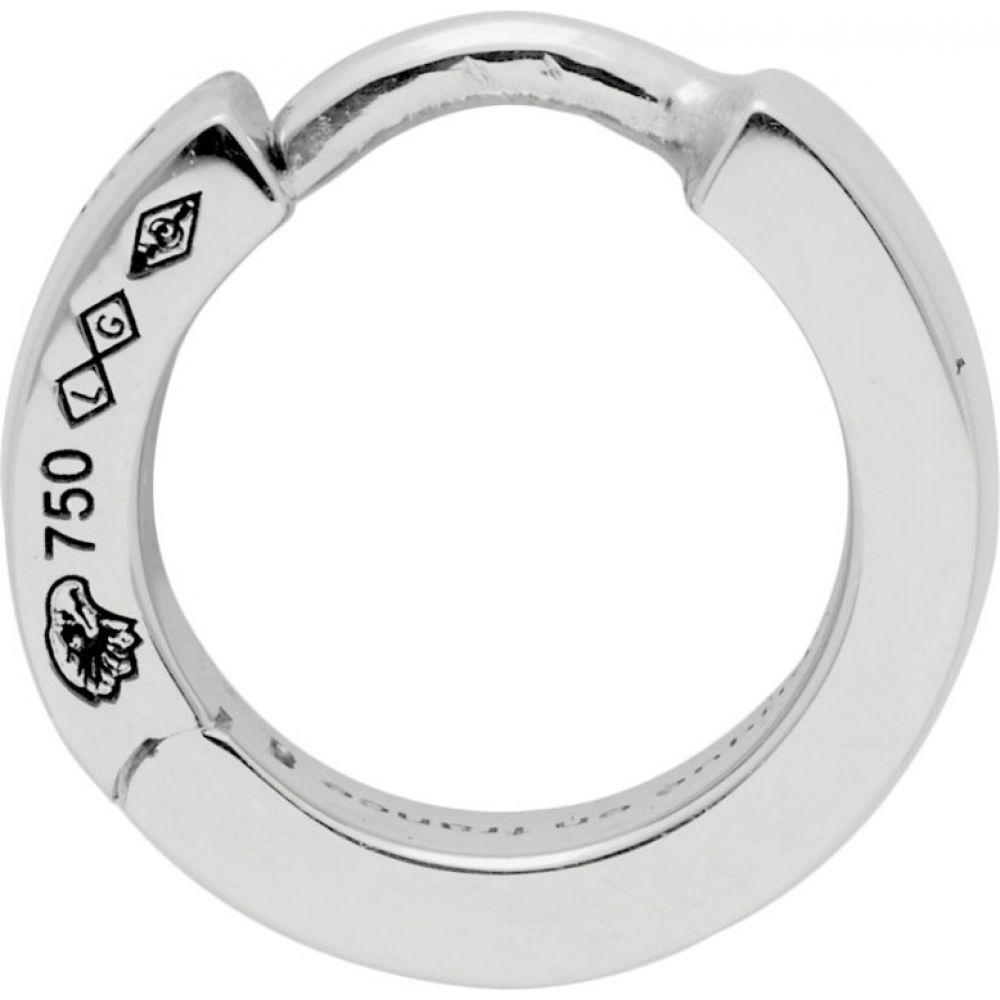 ルグラム Le Gramme メンズ イヤリング・ピアス ジュエリー・アクセサリー【silver polished 'la 0.9 grammes' ribbon single earring】Silver