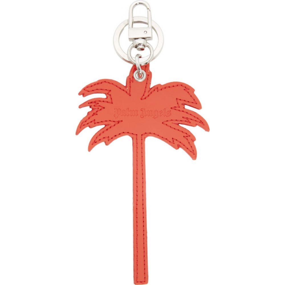 パーム エンジェルス Palm Angels メンズ キーホルダー キーチェーン【red palm tree keychain】Red/Silver