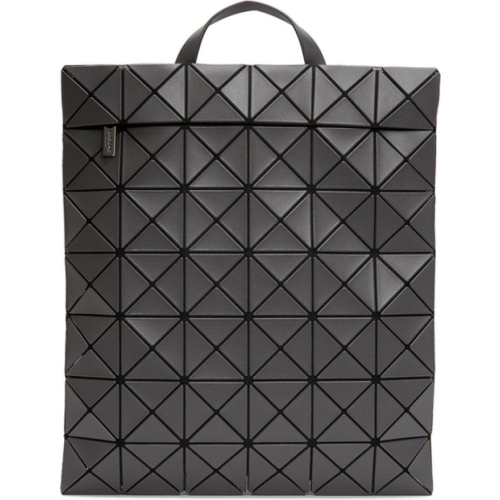 イッセイ ミヤケ Bao Bao Issey Miyake メンズ バックパック・リュック バッグ【grey flat backpack】Charcoal