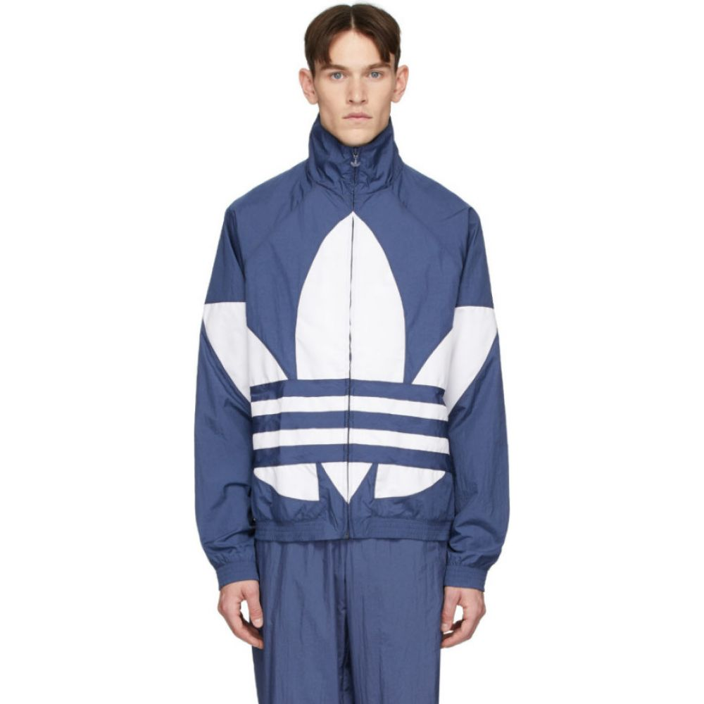 アディダス adidas Originals メンズ ジャージ アウター【blue big trefoil track jacket】Night marine