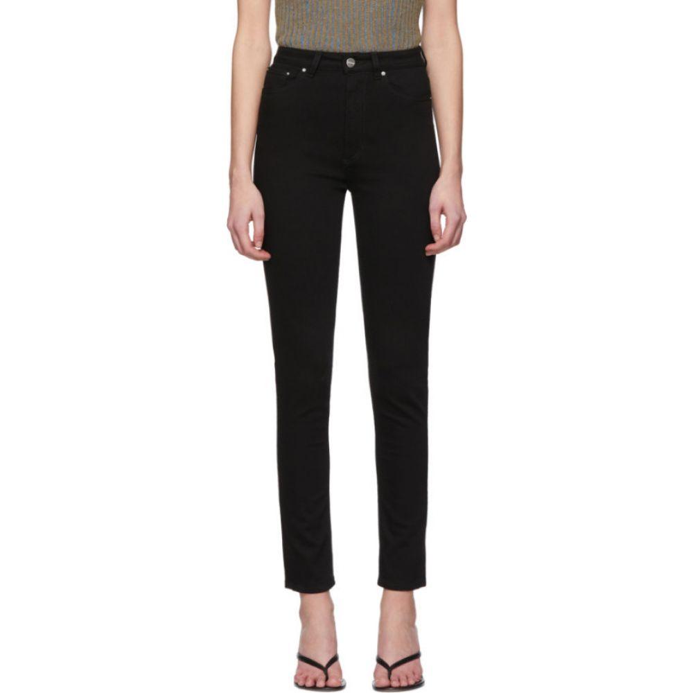 トーテム Toteme レディース ジーンズ・デニム ボトムス・パンツ【black standard jeans】Stay black