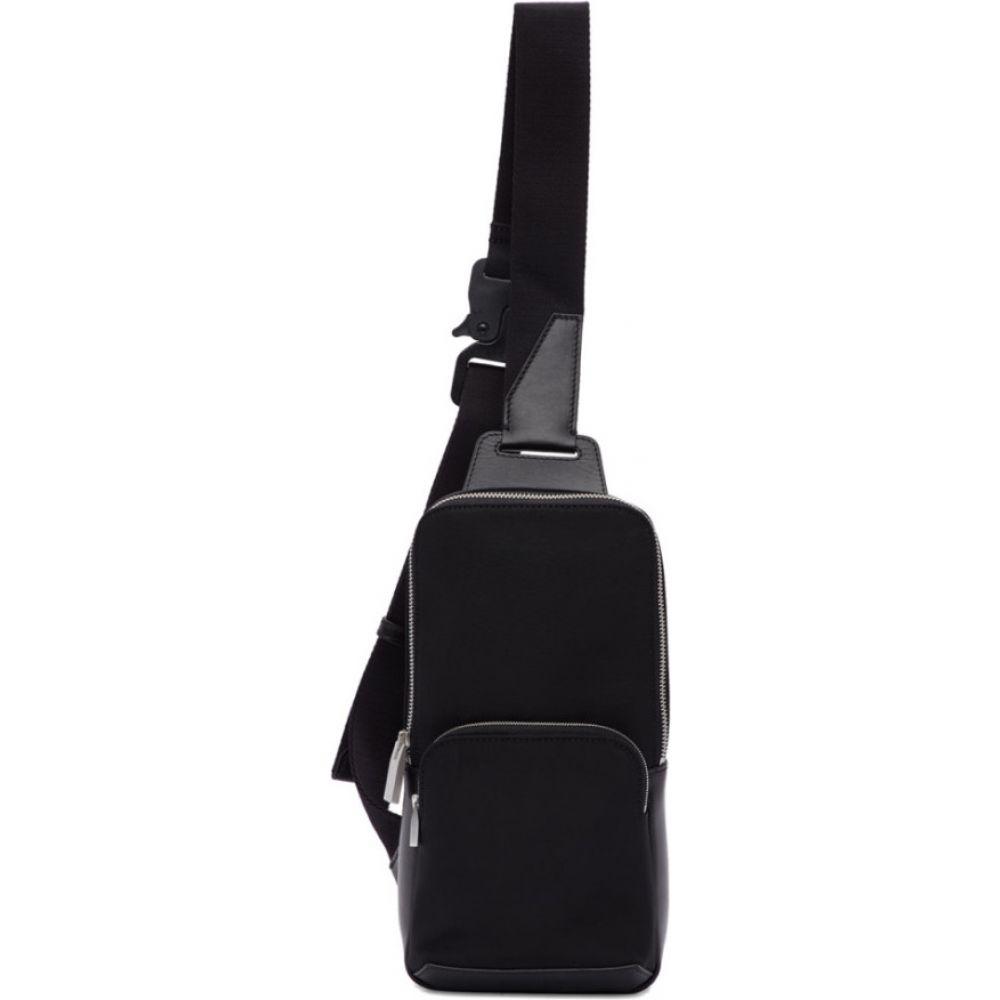 アリクス 1017 ALYX 9SM レディース ショルダーバッグ バッグ black satin crossbody bag Black 新品,大人気