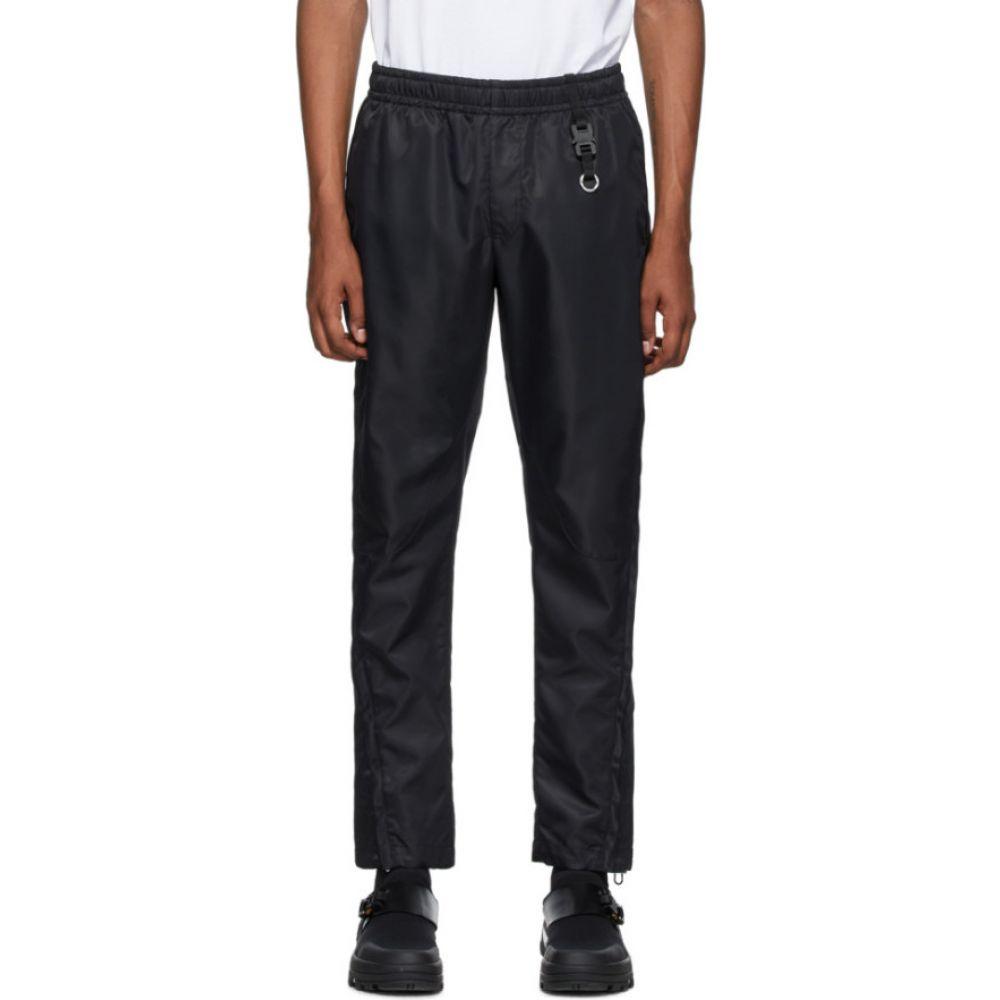 アリクス 1017 ALYX 9SM メンズ スウェット ジャージ ボトムス パンツ black nylon lounge pants Black 法要 ハロウィン 48時間限定ポイント 喜寿祝 年始