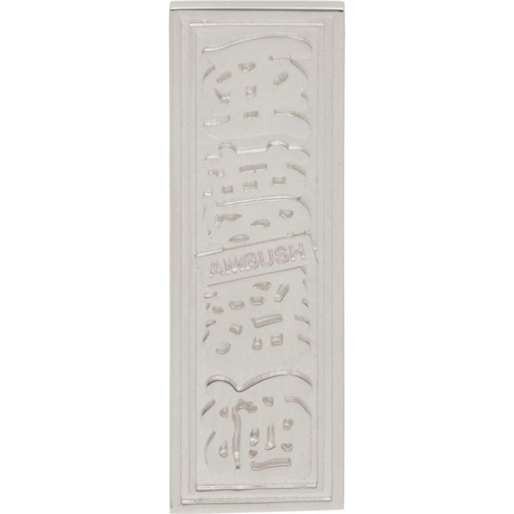 アンブッシュ Ambush メンズ イヤリング・ピアス ジュエリー・アクセサリー【silver single ofuda earring】Silver