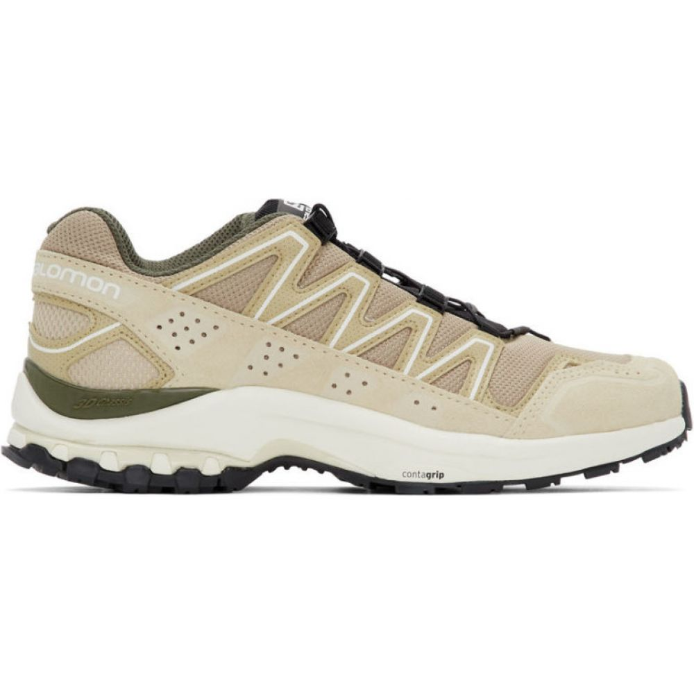 サロモン Salomon メンズ スニーカー シューズ・靴【beige xa-comp ltr adv sneakers】Bleached sand