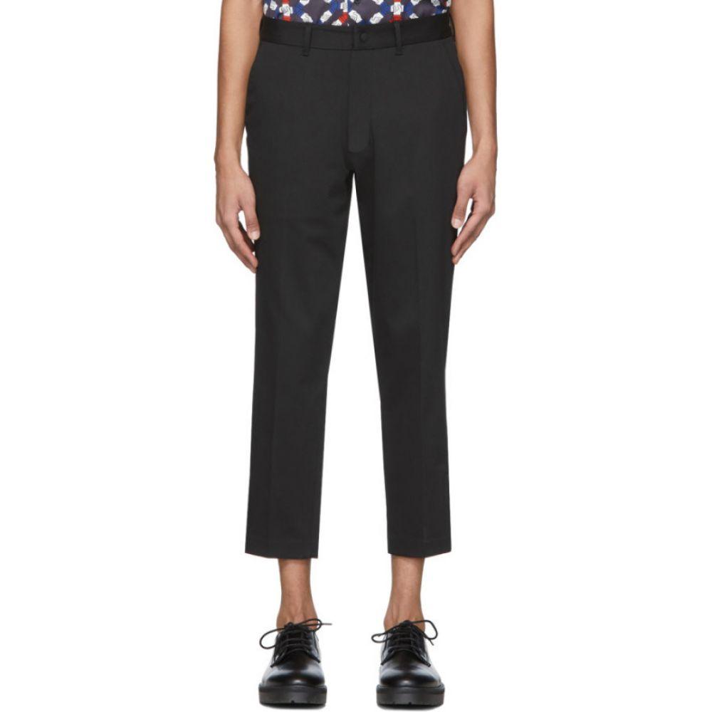 サタデーニューヨーク Saturdays NYC メンズ クロップド ボトムス・パンツ【black murphy cropped trousers】Black