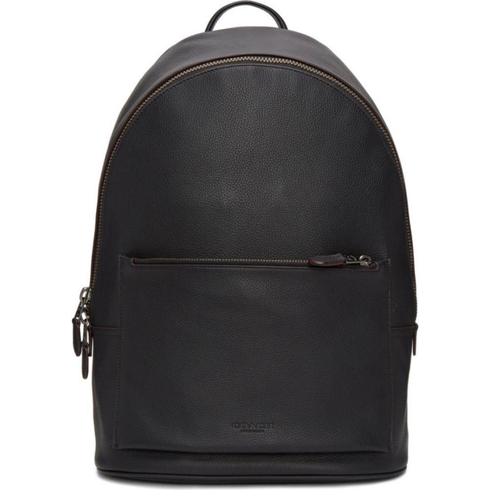 コーチ Coach 1941 メンズ バックパック・リュック バッグ【black metropolitan backpack】Black