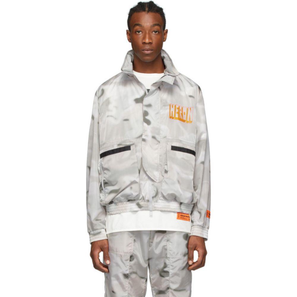 ヘロン プレストン Heron Preston メンズ ジャケット ウィンドブレーカー アウター【multicolor windbreaker jacket】Multicolor/Orange