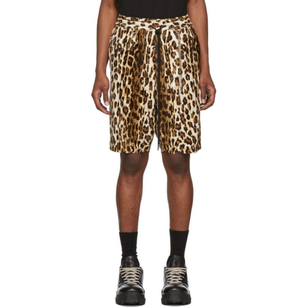マスターマインド mastermind WORLD メンズ ショートパンツ ボトムス・パンツ【beige animal shorts】Leopard
