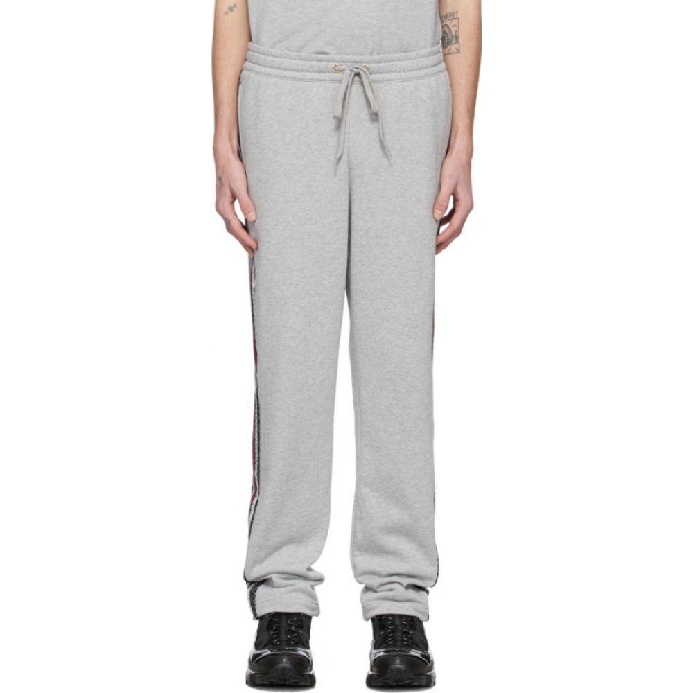 バーバリー Burberry メンズ スウェット・ジャージ ボトムス・パンツ【grey arnold lounge pants】Pale grey melange