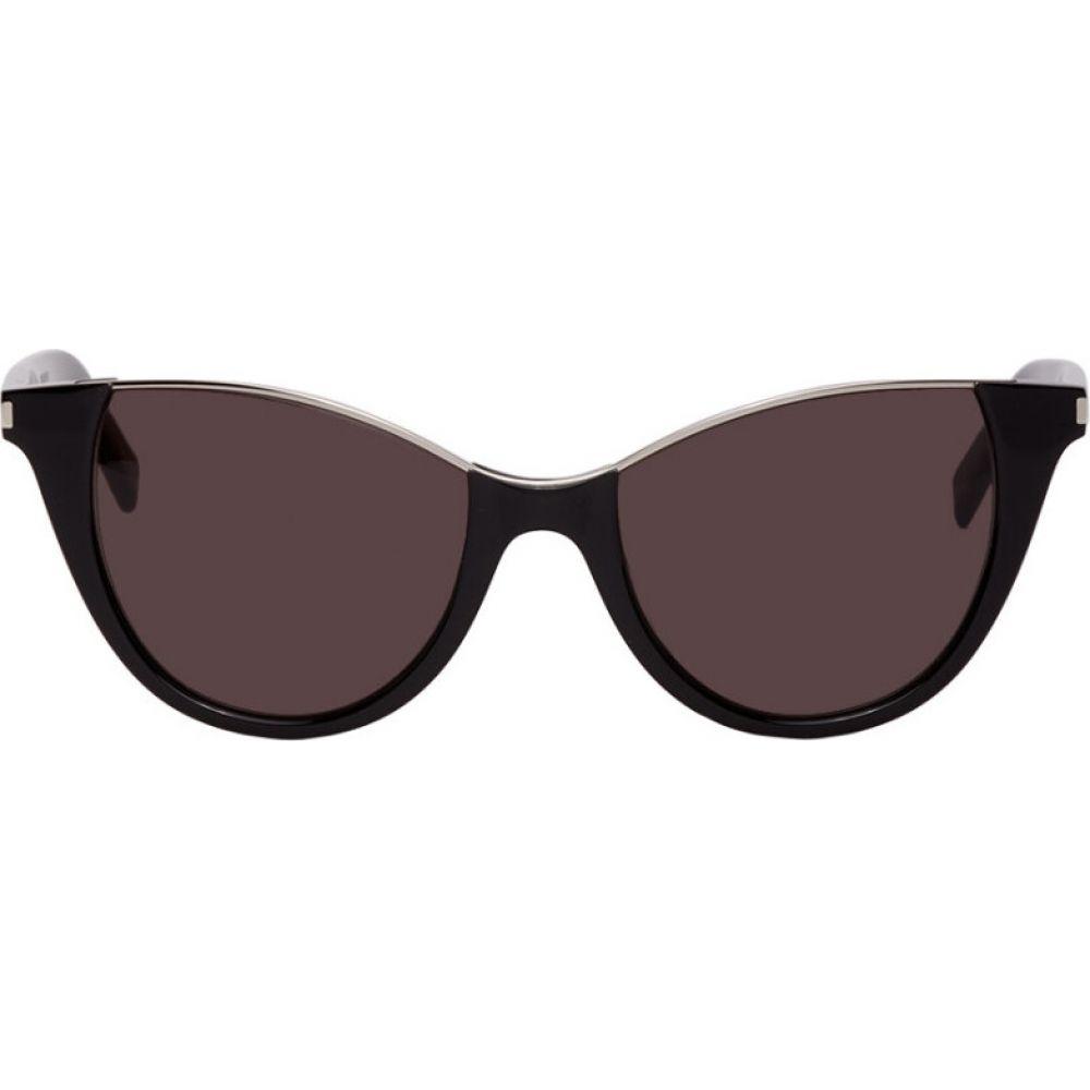 イヴ サンローラン Saint Laurent レディース メガネ・サングラス 【black sl 368 sunglasses】Black