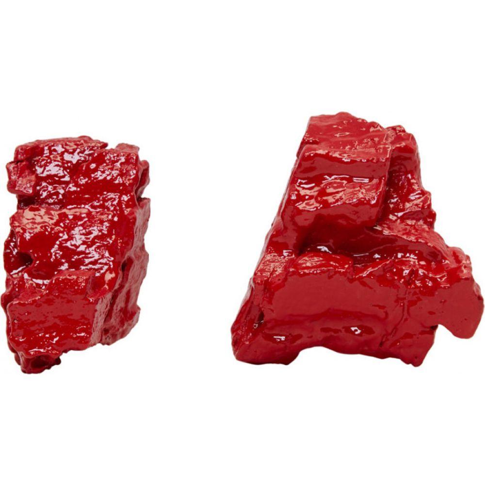 インギー ストックホルム Ingy Stockholm レディース イヤリング・ピアス ジュエリー・アクセサリー【red object no. 59 asymmetric earrings】Red