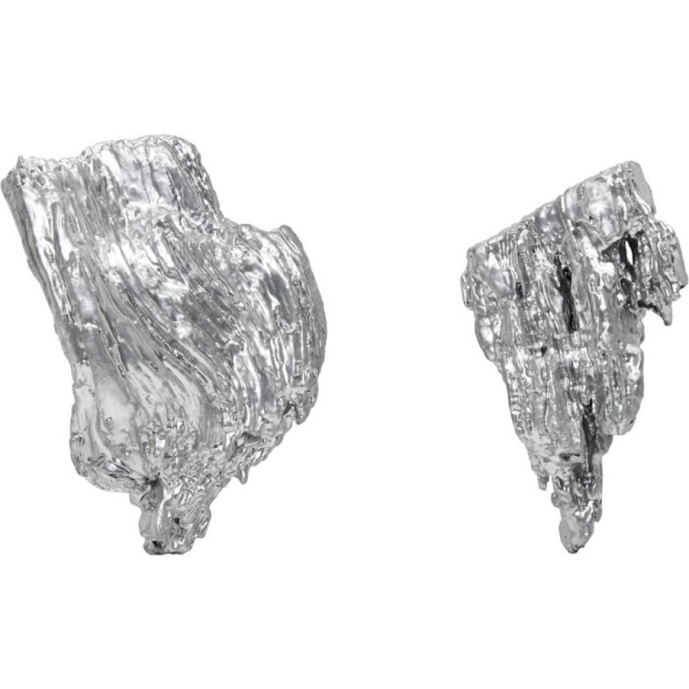 インギー ストックホルム Ingy Stockholm レディース イヤリング・ピアス ジュエリー・アクセサリー【silver object no. 106 asymmetric earrings】Silver