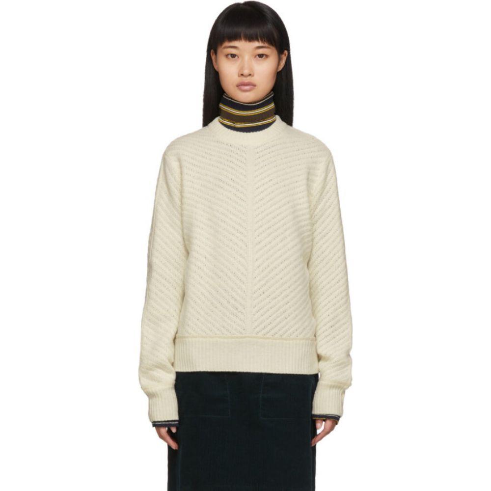 アーペーセー A.P.C. レディース ニット・セーター トップス【off-white rita sweater】Ecru