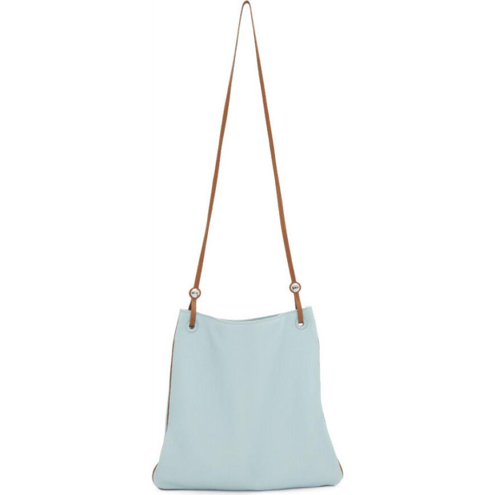 ランバン Lanvin メンズ メッセンジャーバッグ バッグ【blue mail messenger bag】Ice blue