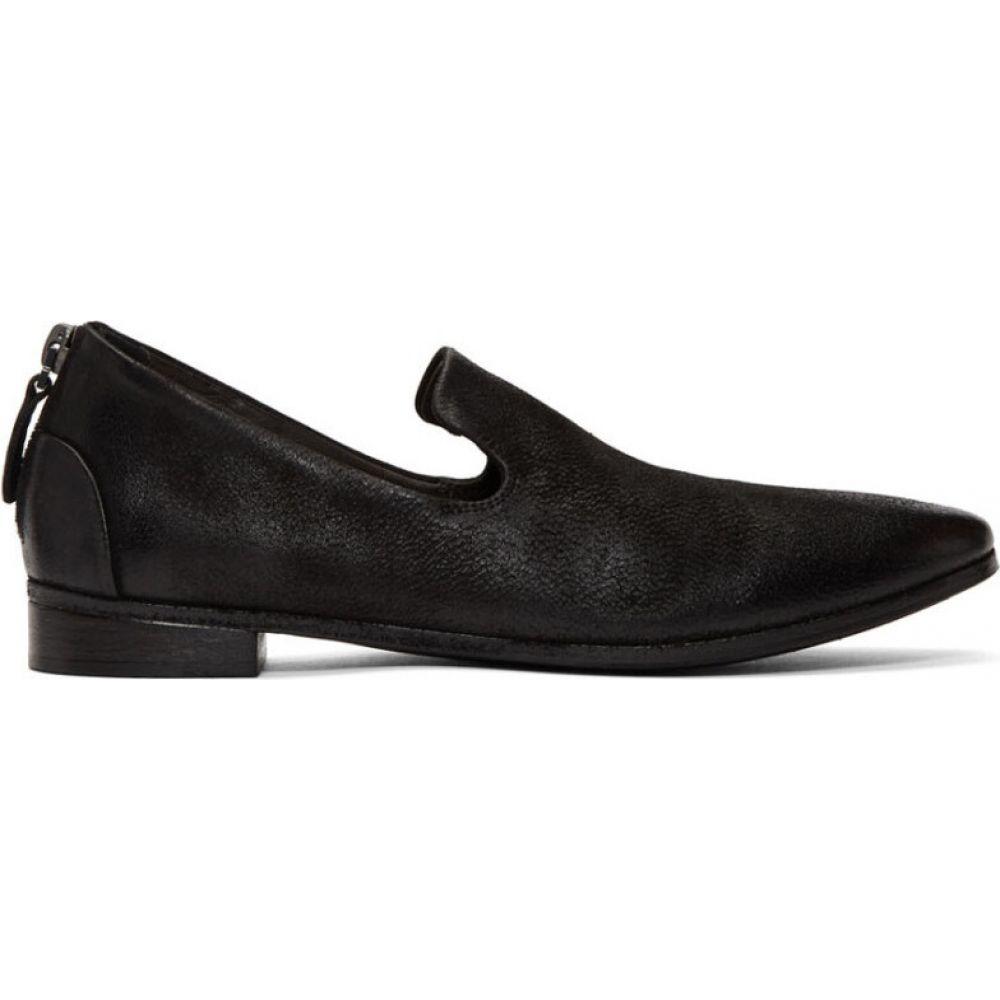 マルセル Marsell レディース ローファー・オックスフォード シューズ・靴【black colteldino loafers】Black