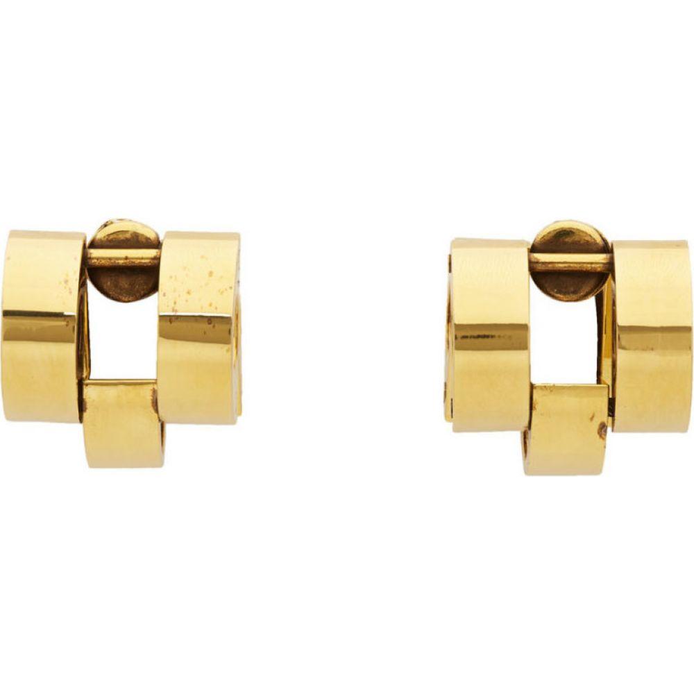 マルニ Marni レディース イヤリング・ピアス ジュエリー・アクセサリー【gold chain earrings】Gold